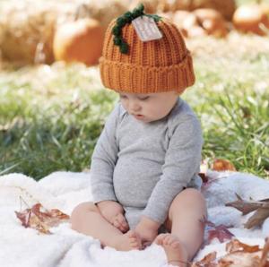 赤ちゃんのハロウィンコスプレ