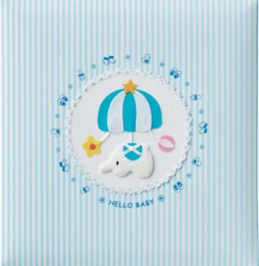 パステルカラーの可愛いアルバム