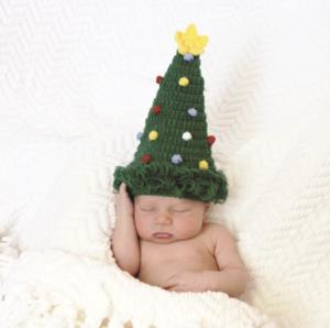 赤ちゃんの可愛いクリスマスコスチューム