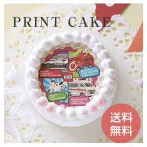 トミカの誕生日ケーキ